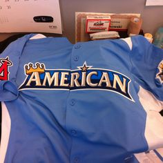 American League All-Star Jersey!