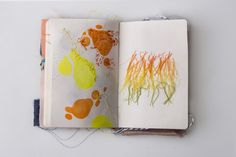 Paper&Textile Sketchbook on Behance