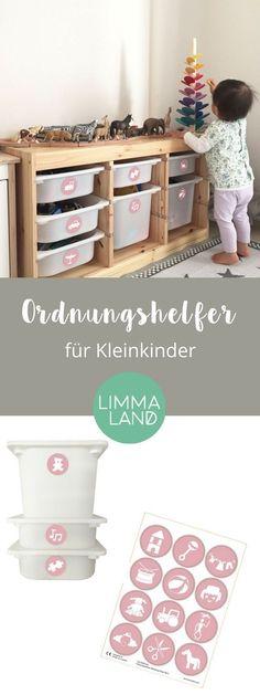 Kreative IKEA Hacks mit der TROFAST Serie für Kinder Tolle Ideen - ideen fur leseecke pastellfarben