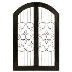 Imax  Amelia Iron and Wood Gate