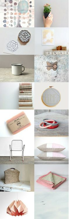 Grey Blue  by Lisa S on Etsy ~
