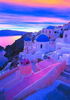 Santorini, Greece Santorini just has to be done. http://www.besteno.com/questions/where-is-the-best-place-to-go-sight-seeing-in-greece