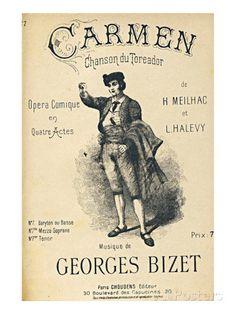 Bizet Opera Carmen Toreador Print at AllPosters.com