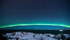 Luces del Norte en Smøla al sur de Noruega. Beautiful Norway, Heaven On Earth, Northern Lights, Nature, Travel, Norway, Lights, Drive Way, Naturaleza
