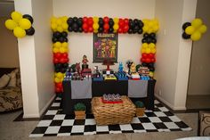 30 Ideas for Fnaf Birthday Party Supplies .Host the Ultimate Celebration with Themed Birthday Event SuppliesBirthday celebrations must be fun for all ages. Birthday Party Images, Kids Birthday Themes, 9th Birthday Parties, 8th Birthday, Five Nights At Freddy's, Fnaf Cakes Birthdays, Diy Crafts Quotes, Happy 12th Birthday, Celebration Balloons