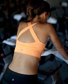 lulu lemon cross back sports bra