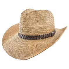 Pony Jeanne Simmons Toyo Straw Cowboy Hat, tan, brown Western Hats, Cowboy Hats, Double Braid, Summer Hats, Sun Hats, Panama Hat, Jeans And Boots, Pony, Pairs