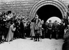 President von Hindenburg With Hitler - IH012783 - Rights Managed - Stock Photo - Corbis