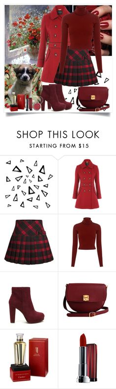 """Untitled #1032"" by misaflowers ❤ liked on Polyvore featuring Nika, Aime, A.L.C., The Code, Cartier, Maybelline and Obsessive Compulsive Cosmetics"