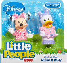 Christmas 2015~ Amazon.com: Fisher-Price Little People Magic of Disney Minnie & Daisy Buddy Pack: Toys & Games