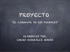 "Proyecto abp "" El Carnaval animales""  Haur hezkuntza, hiru urte"