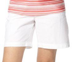 Erika Petite Solid Drawstring Cargo Shorts SPA WHITE Large Petite Erika. $19.99