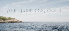Footprints in the Sand: Q&A Time - Getting To Know Me