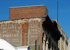 Old Theatre ad, Paterson NJ... The theatre is gone.