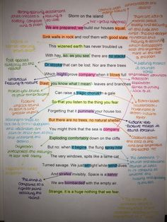 Power and conflict poetry London poem annotated GCSE English Gcse Revision, Gcse English Language, Exam Revision, Teaching Poetry, Teaching Literature, Storm On The Island, English Literature Poems, Gcse Poems, Literatura