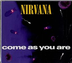 """For Sale -Nirvana (US) Come As You Are UK  CD single (CD5 / 5"""")- See this and 250,000 other rare and vintage records & CDs at http://eil.com/"""