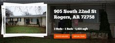 House for Sale Rogers AR - 905 South 22nd St Virtual Trip - http://nwarkansashomes.com/home-for-sale-rogers-ar-905-south-22nd-st-virtual-tour/