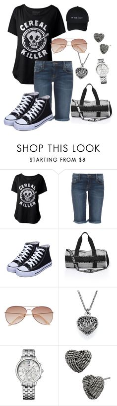 """""""Untitled #228"""" by alaina-dixon ❤ liked on Polyvore featuring mode, Genetic Denim, H&M, Tommy Hilfiger en Betsey Johnson"""