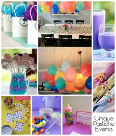 Colorful Jelly Bean Baby Shower Ideas #party #partyideas rainbow