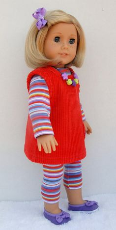 American Girl 18 inch Doll Clothing by TwirlyGirlDollDesign, $19.99