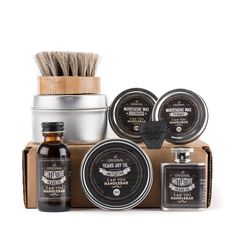Amazon.com: Ultimate Beard Care Kit - Wisdom Beard Oil | Bottle, Flask and Balm | Mustache Wax Set | Beard Oil Brush: Health & Personal Care