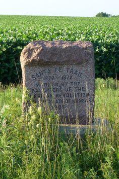 End Of The Santa Fe Trail Marker On The Plaza In Santa Fe New Mexico Laflecha S Lost Legends