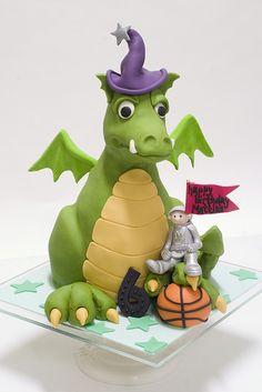 Dragon Cake by studiocake, via Flickr