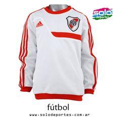 Buzo River Plate Sweat Top Kids Banco/Rojo  Marca: Adidas 100020G74690001   $ 399,00 (U$S 69,39)