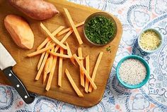 Try our from-scratch french fry recipes (better yet - ideas for dressing up frozen ones).