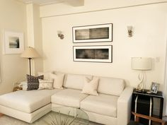 Daniel Brice charcoal drawings in a private home