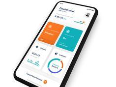 banking layout Invoice App [WIP] by Bagus Fikri Android App Design, Ios App Design, Web Design, Dashboard Design, Interface Design, Flat Design, User Interface, Dashboard Mobile, Mobile App Ui