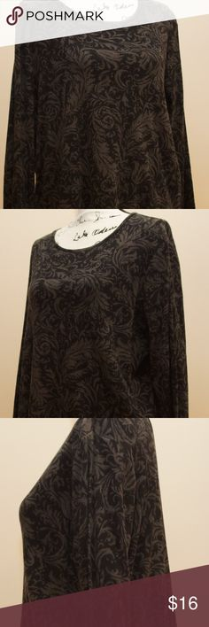 """Ralph Lauren 2X Top Ralph Lauren Women's Knit Top.  The fabric has a soft """"brushed"""" texture and is 100% Cotton.  Machine wash cold, gentle cycle.  Gently used, very good condition, Great Ralph Lauren quality in a plus size top.  Size 2X Measurements in inches: Width(flat at armpits): 23 Length: 25 Sleeve Length(shoulder seam to end): 23 Ralph Lauren Tops Tunics"""