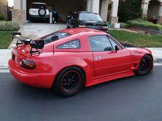 Mazda miata fastback hardtop:p