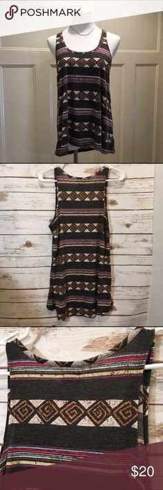 Aztec Volcom tank top Extremely soft & like new tank top. Buy with confidence im a suggested user. Volcom Tops Tank Tops