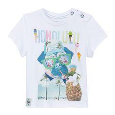 Photoprint T-shirt Blanc Catimini