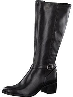 Warme Damen Stiefel Winterstiefel Boots abnehmbares Kunstfell Braun Gr.37 NEU