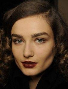 Red-Brown Lipstick