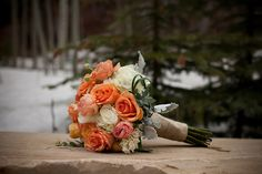 Spring wedding...love the color!