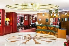 Art Nouveau Palace Prague Hotel Lobby