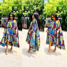 African Ankara Gown Styles for African Ladies - fashionist now African Maxi Dresses, Ankara Dress Styles, Ankara Gowns, Latest African Fashion Dresses, African Print Fashion, African Attire, African Wear, Ankara Fashion, Ankara Blouse