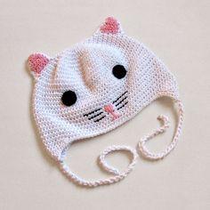 a sweet little kitty hat!