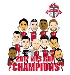 Mls Cup, Toronto Fc, Adobe Illustrator, Champion, Digital Art, Character Design, Behance, Sport, Gallery