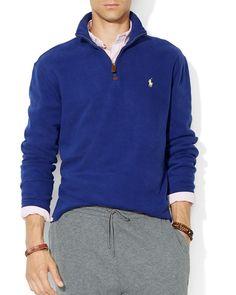 Polo Ralph Lauren French-Rib Half-Zip Pullover