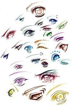 Рисуем глазки