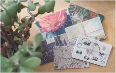 custom postcards via The Weaver House