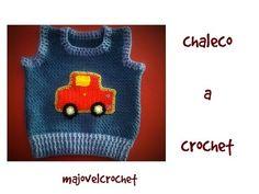 chaleco a crochet muy facil 1ª parte - YouTube