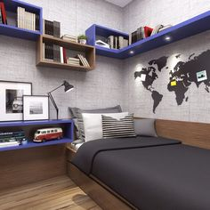 #Contemporary #kids room Trending DIY Interior Ideas