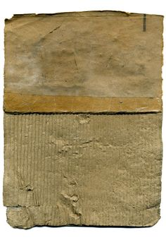 """Babette Herschberger [USA] (b ~ """"Tidbit No. Collage, graphite, found paper and cardboard x 16 cm). Painting Collage, Collage Art, Photomontage, Collages, Sculpture Projects, Cardboard Art, Abstract Art, Abstract Paintings, Conceptual Art"""