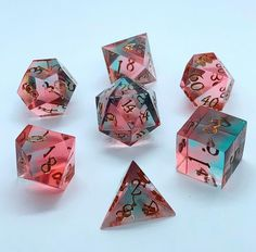Cool Dnd Dice, Fun Crafts, Arts And Crafts, Dungeons And Dragons Memes, Tabletop Rpg, Dado, Dragon Dies, Sea Foam, Goblin