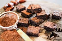 Raw Vegan Brownies | The Secret Life of Bee by @dvsbia001